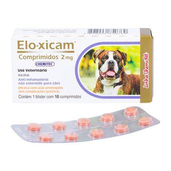 Anti-Inflamatorio-Elo-Xicam-20mg-Chemitec-com-10-Comprimidos