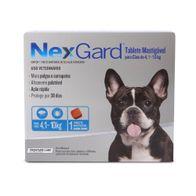 Antipulgas-e-Carrapatos-Nexgard-125g-Merial-p--Caes-de-41-a-10-Kg---1-Tablete-Mastigavel