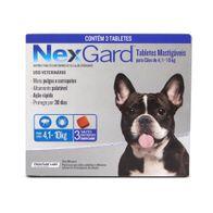 Antipulgas-e-Carrapatos-Nexgard-125g-Merial-p--Caes-de-41-a-10kg---3-Tabletes-Mastigaveis