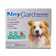 Antipulgas-e-Carrapatos-Nexgard-30g-Merial-p--Caes-de-101-a-25kg---1-Tablete-Mastigavel