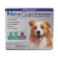 Antipulgas-e-Carrapatos-Nexgard-30g-Merial-p--Caes-de-101-a-25kg---3-Tabletes-Mastigaveis