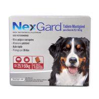 Antipulgas-e-Carrapatos-Nexgard-60g-Merial-p--Caes-de-251-a-50kg---1-Tablete-Mastigavel
