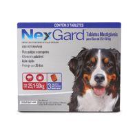 Antipulgas-e-Carrapatos-Nexgard-60g-Merial-p--Caes-de-251-a-50kg---3-Tabletes-Mastigaveis