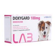 Antimicrobiano-Doxygard-Labgard-100mg-p--Caes-e-Gatos-c-12-Comprimido