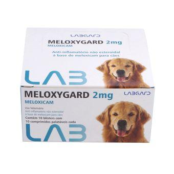 Anti-Inflamatorio-Meloxygard-Labgard-2mg-para-Caes-c--100-Comprimidos