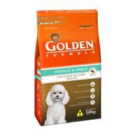 Racao-Golden-Formula-p--Caes-Adultos-de-Pequeno-Porte-Frango---Arroz-Mini-Bits-1kg