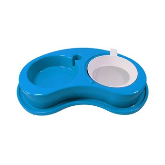 Comedouro-Furacao-Pet-Plastico-Antiformiga-Luxo-Duplo-G---Azul