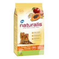 Racao-Naturalis-Caes-Adultos-Racas-Pq.-Frango-Peru---Frutas-Total-2kg