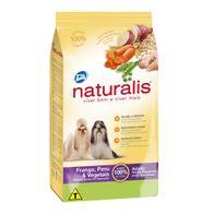 Racao-Naturalis-Caes-Adultos-Racas-Pq.-Frango-Peru---Vegetais-Total-2kg