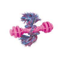 Brinquedo-Halteres-Macico-de-Borracha-com-Corda-Furacao-Pet---Rosa