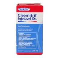 Antibiotico-Chemitril-Chemitec-10--Injetavel-50ml