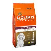 Racao-Golden-Formula-p--Caes-Adultos-Carne---Arroz-Mini-Bits-15-kg