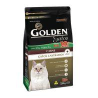 Racao-Golden-Gatos-Adultos-Castrado-Carne-Leve-33-Kg-e-Pague-3Kg