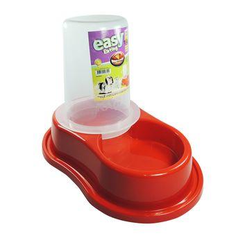 Comedouro-Plastico-Furacao-Pet-Antiformiga-Automatico-c--Dosador-P---Vermelho