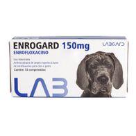 Antimicrobiano-Enrogard-Labgard-150mg-p--Caes-e-Gatos-c-10-Comprimidos