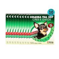 kit-Coleira-Tea-P-com-10-unidades