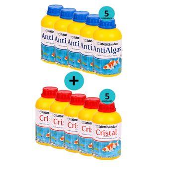Kit-5-Garden-Antialgas-1Kg--5-Garden-Cristal-1L