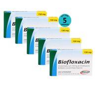 Kit-5-Biofloxacin-Biovet-150mg-C-10-Comprimidos