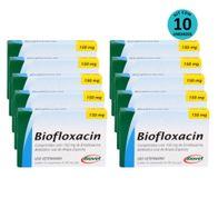 Kit-10-Biofloxacin-Biovet-150mg-C-10-Comprimidos