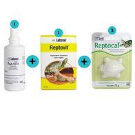 Kit-1-Aqualife-100ml--1-Reptovit-15ml--3-Reptocal-15g