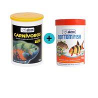 Kit-Alcon-Carnivoros-300g---Alcom-Botto-Fish-150g